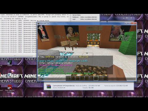 Minecraft 1.7.2 - Como descargar,instalar y usar CAMERA STUDIO MOD