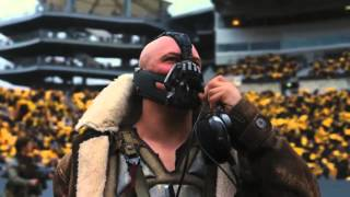 "Bane sings ""Take me Home Tonight"" by Eddie Money"