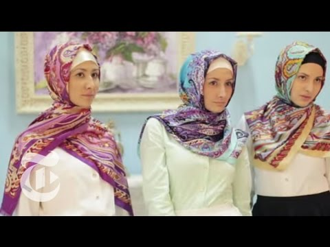 Muslim Image-Makers, Made in Moscow | The New York Times