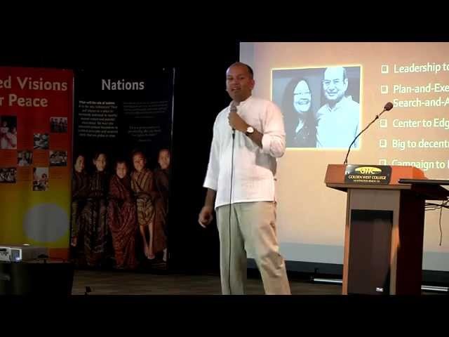 Nipun Mehta Introduction by Nimesh Patel - 2014 Golden West College Peace Conference
