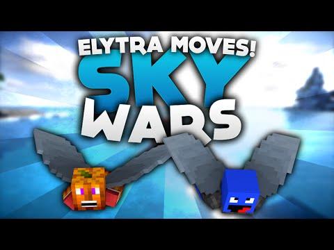 ELYTRA MOVES! - Minecraft Sky Wars!   DieBuddiesZocken