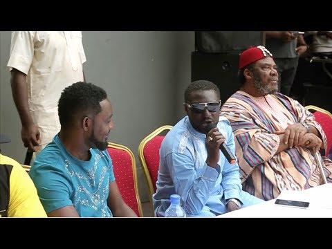 AY, Pete Edoche, Yemi Black, Faze, Okey Bakassi, Francis Duru, Eedris, Patience Ozokwu