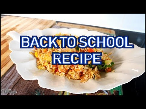BACK TO SCHOOL RECIPE & TIPS - | Chef Ricardo Cooking