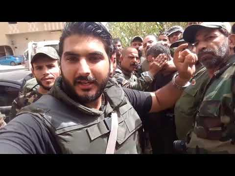 ISIS Suicide Bomber Captured by Jerusalem Palestinian Brigade in Yarmouk Camp