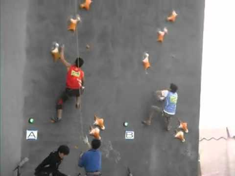 World record in speed climbing!