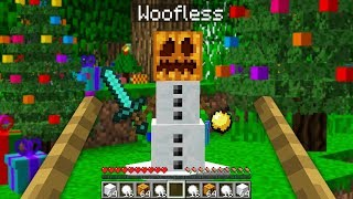 PLAYING MINECRAFT AS A SNOWMAN! - Minecraft Mods