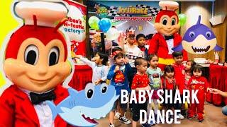 Baby Shark dance with Jollibee in Dubai - Happy Birthday SAM - Kids Party