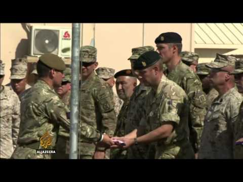 UK troops leave Afghanistan after 13 years