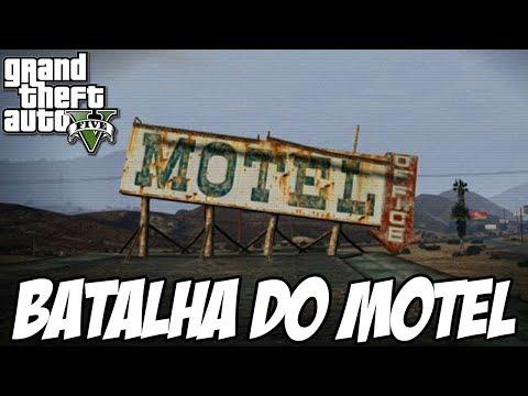 GTA V - Batalha no MOTEL com MOSQUETE MISSÃO NOVA