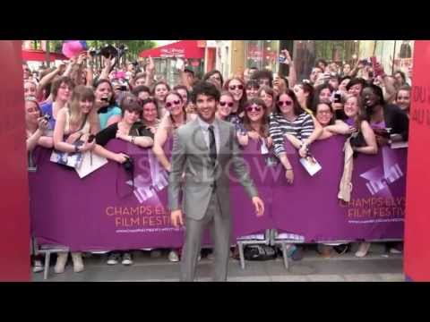 Darren Criss is really nice to his fans at 2013 Champs Elysees Film Festival in Paris