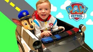 Paw Patrol Toys with Marshall Firetruck Play Tent Video for Kids