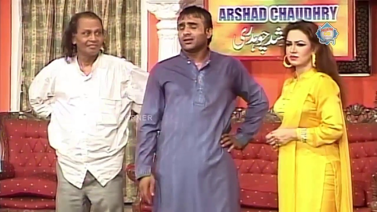 Amanullah and Abid Carlie New Pakistani Stage Drama Full Comedy Clip