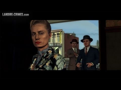 LA Noire - Walkthrough - Mission #6 - A Marriage Made in Heaven (5 Star)