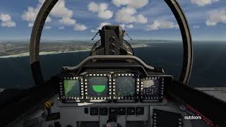 Flying F-15E Strike Eagle in the Stratosphere | Aerofly FS2 Flight Simulator