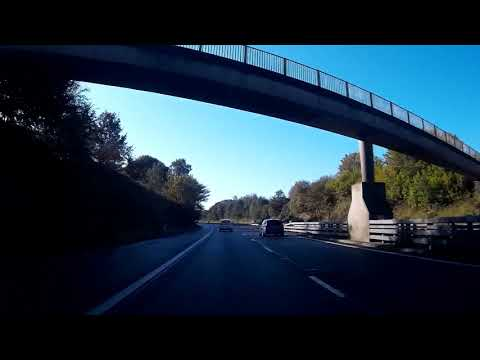 September Road Trip Drive To Milnathort Perthshire Scotland