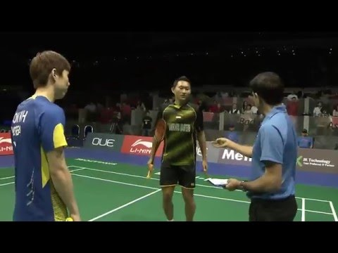 OUE Singapore Open 2016 | Badminton F M4-MS | Son Wan Ho vs Sony Dwi Kuncoro