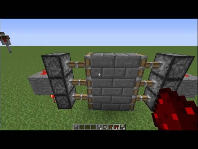 Piston Door 3x2 3x2 Piston Door Youtube
