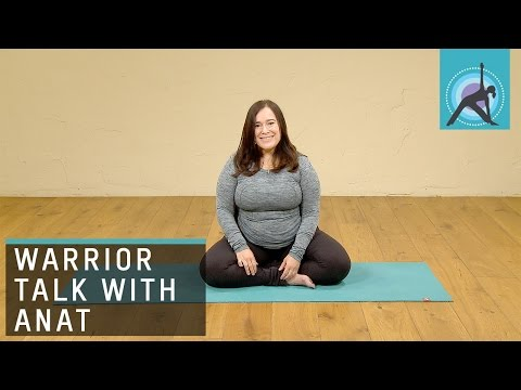 What the Yoga Warriors mean to Anat Geiger