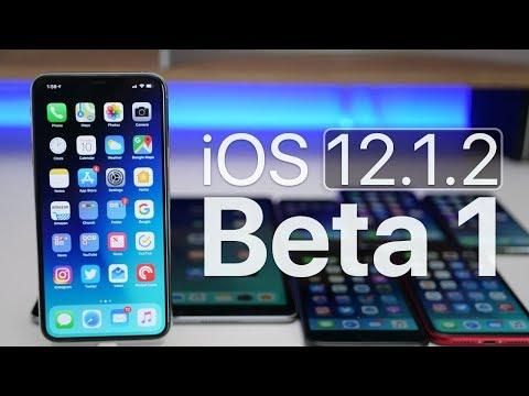 iOS 12.1.2 Beta 1 - What's New?