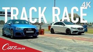 Track Race: Audi RS3 vs Mercedes A45 AMG