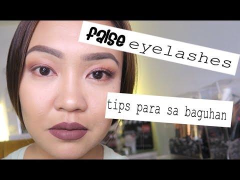 Paano Maglagay ng FALSE EYELASHES + Individual Lashes!
