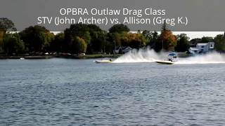 OPBRA Outlaw Drag Class (Peterborough, ON Sept 16, 2017)