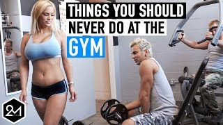 Top 10 Things You Should Never Do At The Gym 2017