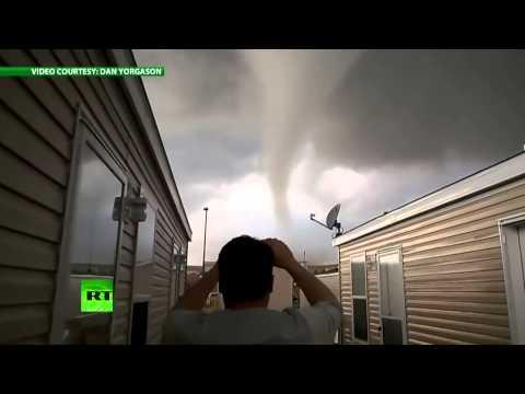 Торнадо разрушил туристический лагерь в США
