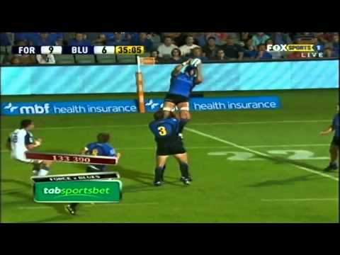 Blues v Western Force highlights,Super Rugby Rd.4 2011