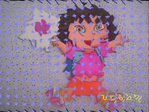 Fiesta Dora la Exploradora en foami