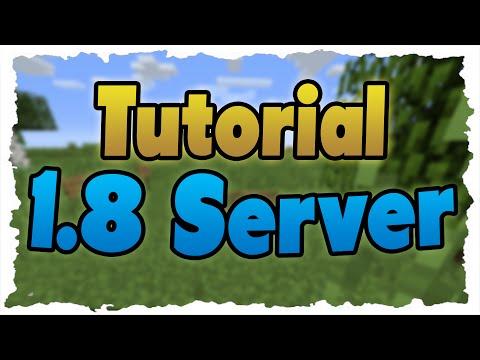 MINECRAFT 1.8 Server erstellen (Tutorial) 1.8 Multiplayer! (kostenlos)