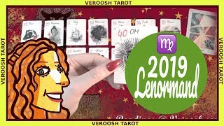 A very Lucky Year! Virgo ♍ Lenormand 2019 ♍ Year Preview