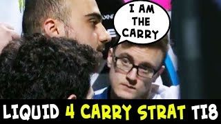 Liquid 4 CARRY STRAT on TI8 — Kuroky position 1