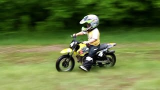 4 and 5 year old bikers. 4 и 5 летние байкеры.