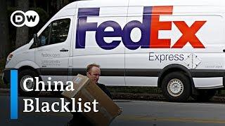 China to blacklist US companies? | DW News
