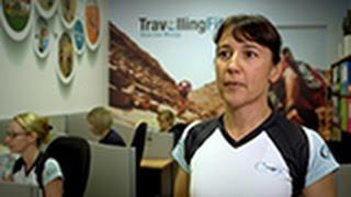 Marathon Travel Agency owner Mari-Mar Walton - as seen on Kochie
