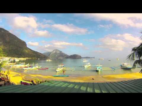 El Nido Bay GoPro Time-Lapse
