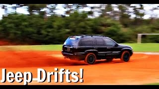 Jeep Grand Cherokee Offroad Drifts