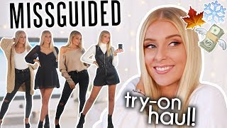 MISSGUIDED TRY-ON HAUL 💸 AUTUMN/WINTER 2019!