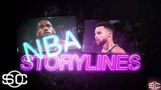 Biggest storylines of the NBA's remaining schedule | SportsCenter | ESPN