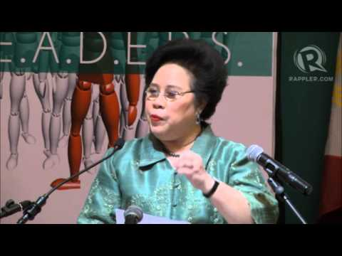 Miriam on Senate mental health, Revilla speech