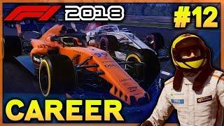 F1 2018 Career Mode Ep 12: FIGHTING MERCEDES - HUNGARY (McLaren Career - F1 2018 Game PS4 Gameplay)