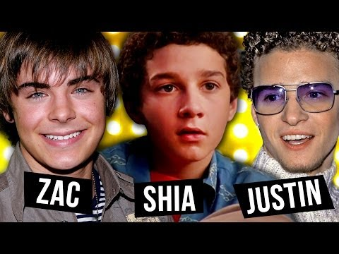 Best Disney Transformations: Zac Efron vs Shia Labeouf vs Justin Timberlake