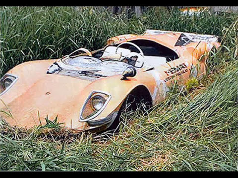 coches abandondos y desguazados