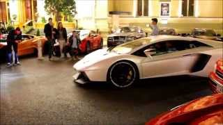NOVITEC Lamborghini Aventador in Monaco. Loud Sounds