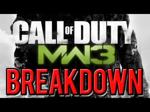 Modern Warfare 3: Multiplayer Gameplay Footage BREAKDOWN