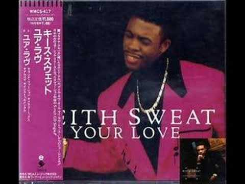 Keith Sweat Your Love (Club Mix) (Part 1&2) 12Japan 1991