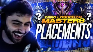 Yassuo | 0 LOSSES TO MASTERS CHALLENGE! PLACEMENTS Ft. TFBLADE [Episode 1]