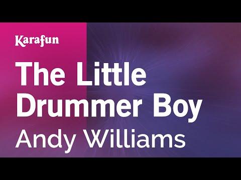 Karaoke The Little Drummer Boy - Andy Williams *
