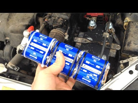 Replacing My Car Battery with Capacitors! 12V BoostPack ...